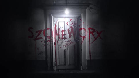 Creepy Door Logo or Text Intro After Effects Template