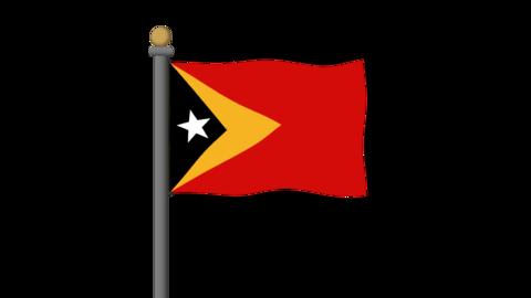 Flag of East Timor 動畫