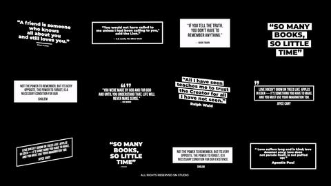 Modern Quotes Motion Graphics Template