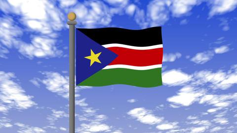Flag of South Sudan 動畫