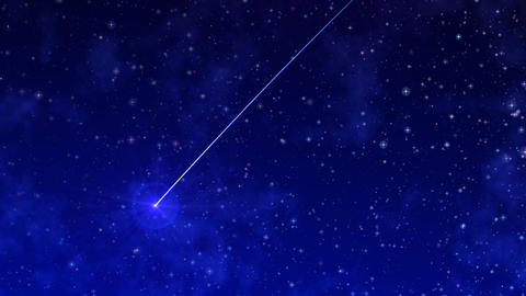 Starry Sky BG ver2.0 with Shooting Stars Animation