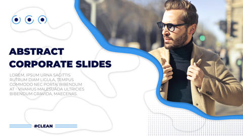 Abstract Corporate Slides After Effects Template