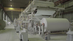 A big factory with working machines Footage