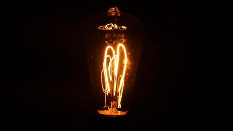 edison bulb Footage