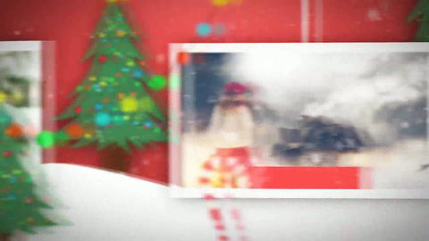Christmas and New Year Slideshow After Effects Template