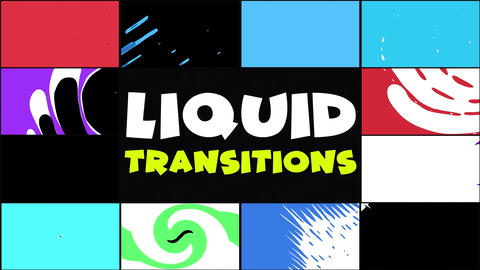Liquid Transitions Pack 11 Apple Motion Template