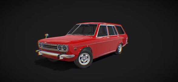 Datsun 510 bluebird 3D Model