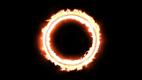 Fire Circle Animation
