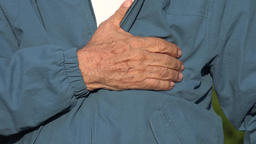 Elderly Man With Heart Attack Or Chest Pain Live Action