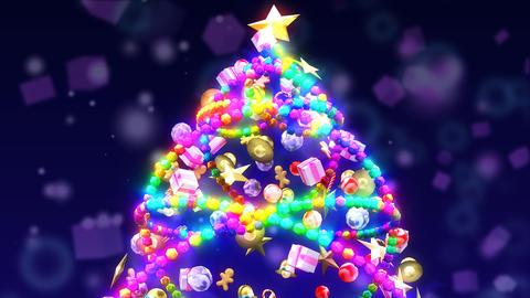 ChristmasTree&Illumination(loop) Animation