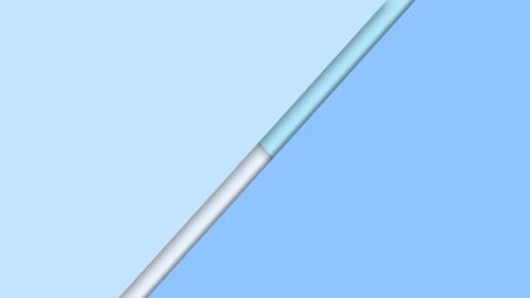 Opening up Transition Blue Animation