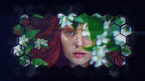 Cold Beauty After Effects Template