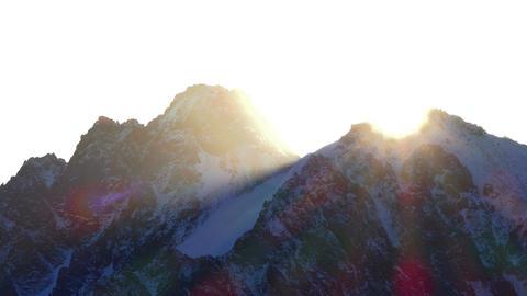 Peaks Sunrise 4K Footage