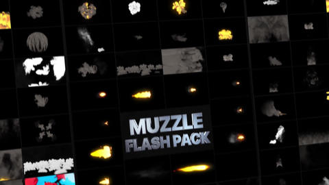 Muzzle Flash Pack Motion Graphics Template