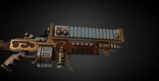 Ark rifle mechanicus 3D Model