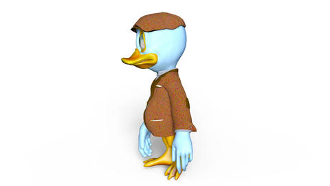Duck Walk Animation