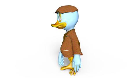 UHD-Duck Walk Animation