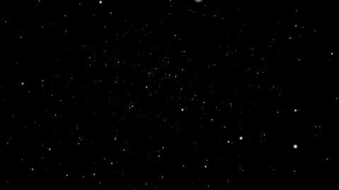 Cosmic Star Travel Animation