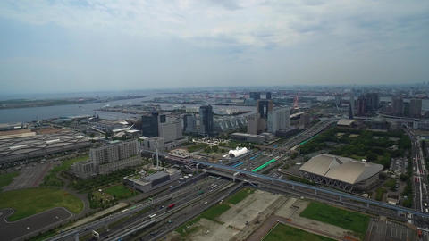 Tokyo - Aerial Footage Live Action