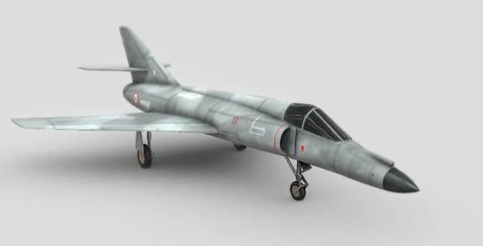 Dassault super etendard 3D Model