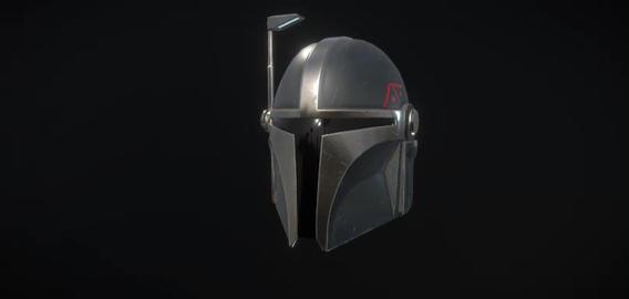 Mandalorian helmet 3D Model