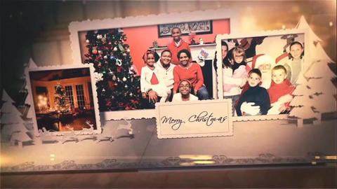 Merry Christmas After Effects Template
