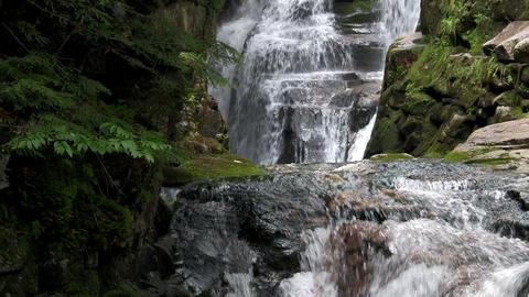 Beautiful waterfall near Fortuna, Costa Rica Footage