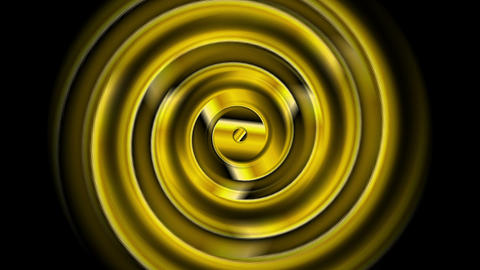 Golden swirl abstract video animation Animation