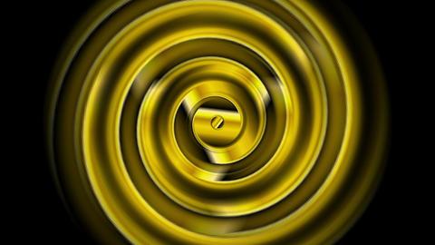 Golden swirl abstract video animation Animation