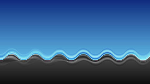 Abstract contrast blue black wavy video clip Animation