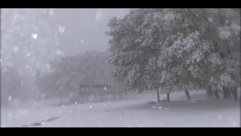 WINTER OPENING TITLES After Effects Template