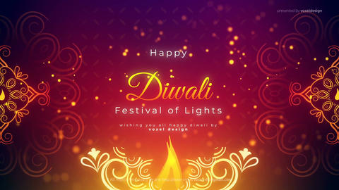 Happy Diwali Classic Opener After Effects Template