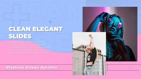 Clean Elegant Slides After Effects Template