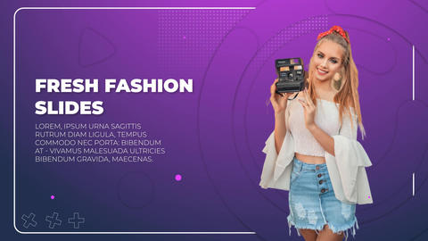 Fresh Fashion Slides After Effects Template
