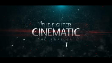 The Fighter Cinematic HD Trailer Plantilla de After Effects