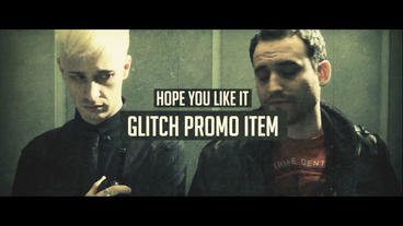 Glitch Promo After Effects Project