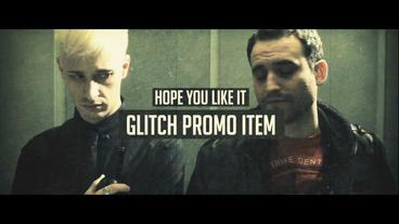 Glitch Promo After Effects Projekt