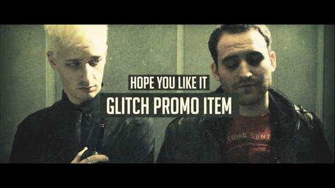 Glitch Promo After Effectsテンプレート