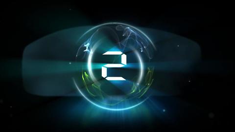 カウントダウン (クール/エフェクト)|Countdown (cool /... 動画素材, ムービー映像素材