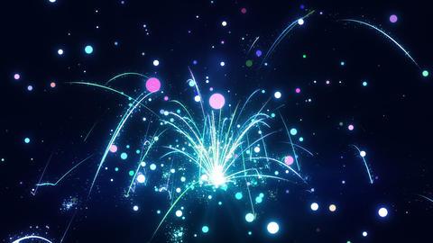 SHA Bounce Particle World Blue Animation
