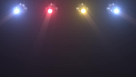 3D background theatrical spotlight 1 Animation