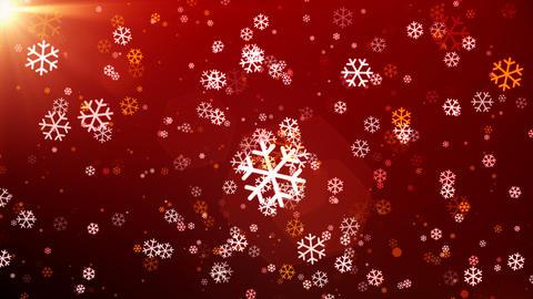 Christmas Windy Snowfall Animation