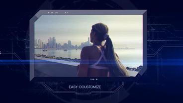 Digital Slideshow After Effects Projekt
