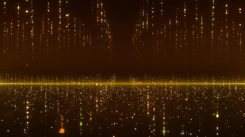 SHA Particle array Image Yellow CG動画