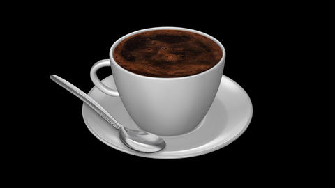 Coffee Turkish - Isolated Cup Animation