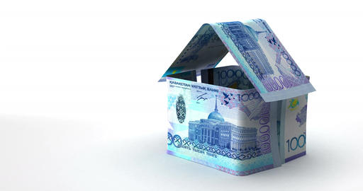 Real Estate Finance (Kazakh Tenge) Animation