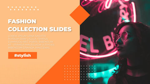 Fashion Collection Slides After Effects Template