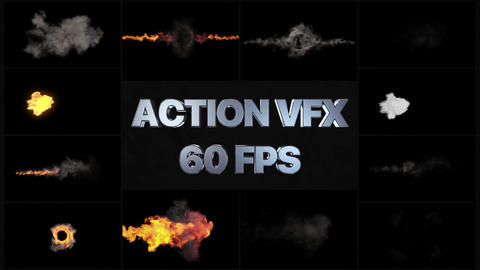 VFX Action Pack Motion Graphics Template