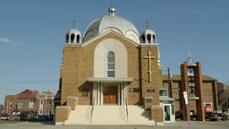 Russian Orthodox Cathedral of St Barbara in Edmonton, Alberta 画像