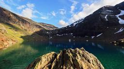 Mountain Timelapse Troll Lake Sweden Footage